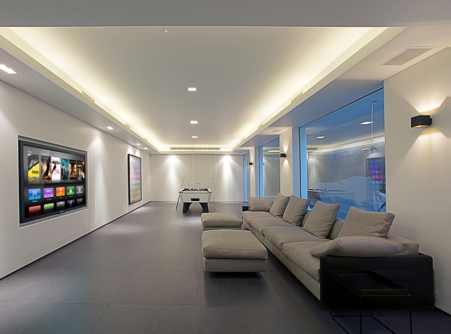 Panasonic TH-85VX200 - CEDIA Best Media Room Over £15,000 - 2011 Highly Commended